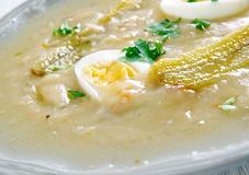 Fanesca soup Stock Images