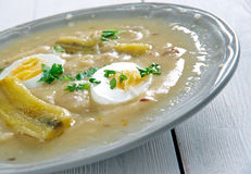 Fanesca soup Royalty Free Stock Images