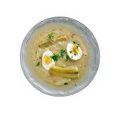 Fanesca soup Stock Photo