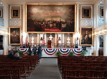 Faneual Hall, Boston Photo stock