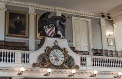Faneuil Corridoio, Boston Immagine Stock Libera da Diritti