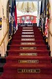 Faneuil Corridoio, Boston Fotografia Stock