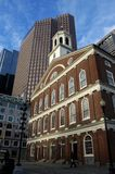 Faneuil Hall. Of Boston at dawn Royalty Free Stock Photography