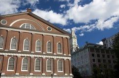 Faneuil Hall, Boston stockfoto