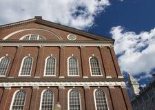 Faneuil Hall, Boston lizenzfreie stockbilder