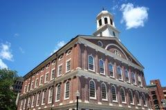 Faneuil Hall, Boston. Boston, Massachusetts. Faneuil Hall - landmark on Boston Freedom Trail Stock Image
