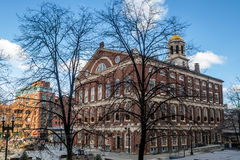 Faneuil Hall - Boston, Massachusetts, USA Lizenzfreies Stockbild