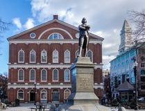 Faneuil Hall - Boston, Massachusetts, USA Lizenzfreies Stockfoto
