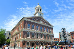 Faneuil Hall, Boston, USA Royalty Free Stock Photos