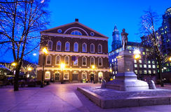 Faneuil Hall at Christmas Time. Stock Image