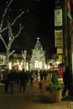 Faneuil Hall Christmas Tree, Boston, mA Foto de archivo libre de regalías