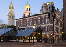 Faneuil Hall Royalty Free Stock Photos