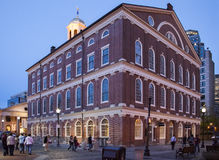 The Faneuil Hall Royalty Free Stock Photo
