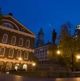 Faneuil Halle in Boston Stockfoto