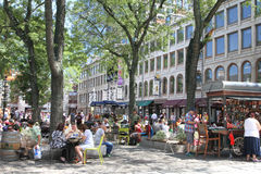 Faneuil Pasillo, Boston, mA fotos de archivo libres de regalías
