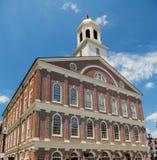 Faneuil Pasillo en Boston en rastro de la libertad fotos de archivo