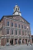 Faneuil Salão em Boston Imagens de Stock
