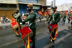 Fanfara dell'esercito Fotografie Stock Libere da Diritti