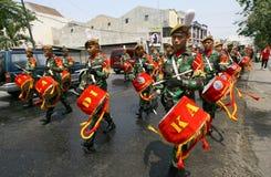Fanfare d'armée Image stock