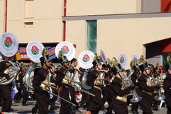 Fanfare de Pasadena de Rose Parade Photo libre de droits