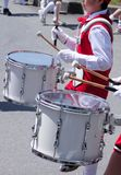 Fanfare drummers Royalty Free Stock Image
