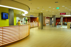 Fanfare-Kongress-Hotel Prag Lizenzfreies Stockfoto