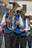 Fanfare singers ethnic German Royalty Free Stock Photos