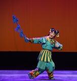 Fanfarronería del caballo--€œLittle Worriors de la ópera de Pekín del  del family†de Yeuh's Imagen de archivo