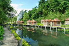 Fang Hot Spring in Chiang Mai, Thailand Stockbilder