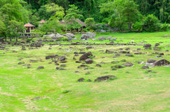 Fang Hot Springs Thailand Arkivbilder