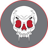 Fang Skull Royalty Free Stock Images
