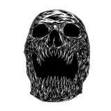 Fang Skull, Illustratievector stock illustratie