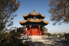 Fang Ting Pavilion. Royaltyfria Bilder