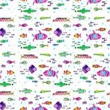 Fangen Sie alle Fische lizenzfreies stockfoto
