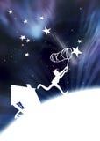 Fangen Sie die Sterne ab Stockbilder