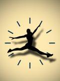 Fangen Sie die Zeit ab Lizenzfreies Stockbild
