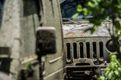 Fango della corsa del wrangler del gruppo della jeep Fotografia Stock Libera da Diritti