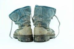 Fango delle scarpe di tela sporco Fotografia Stock Libera da Diritti