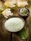 Fango e fiore dei minerali del bagno Fotografie Stock