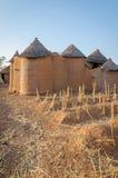 Fango tradizionale un alloggio dell'argilla della tribù di Tata Somba del Benin e del Togo del Nord, Africa Fotografia Stock Libera da Diritti