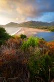 Fangodelta in Corsica, Frankrijk Royalty-vrije Stock Afbeeldingen