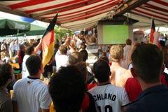 fani piłki nożnej obraz royalty free