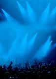 fani pokaz świateł Zdjęcie Royalty Free