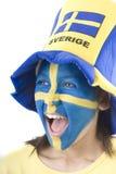 fani Szwecji Obraz Royalty Free