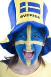 fani Szwecji Obraz Stock