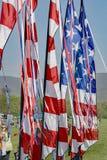 Fanion de drapeau américain photographie stock