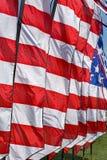 Fanion de drapeau américain images libres de droits