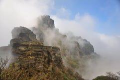 Fanjing berg Royaltyfri Fotografi
