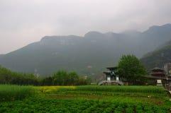 Fanjing berg Fotografering för Bildbyråer