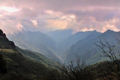 Fanjing berg Arkivbild